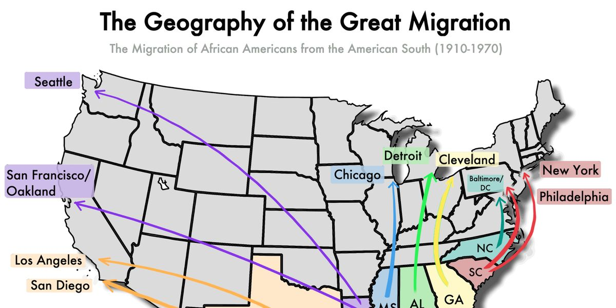 essays on the great migration The great migration filed under: essays tagged with: history: africa because of the huge impact of these migrations on african americans and on the nation at large, it is important to understand the reasons for the migrations, white and black institutional responses to this movement, and the known.